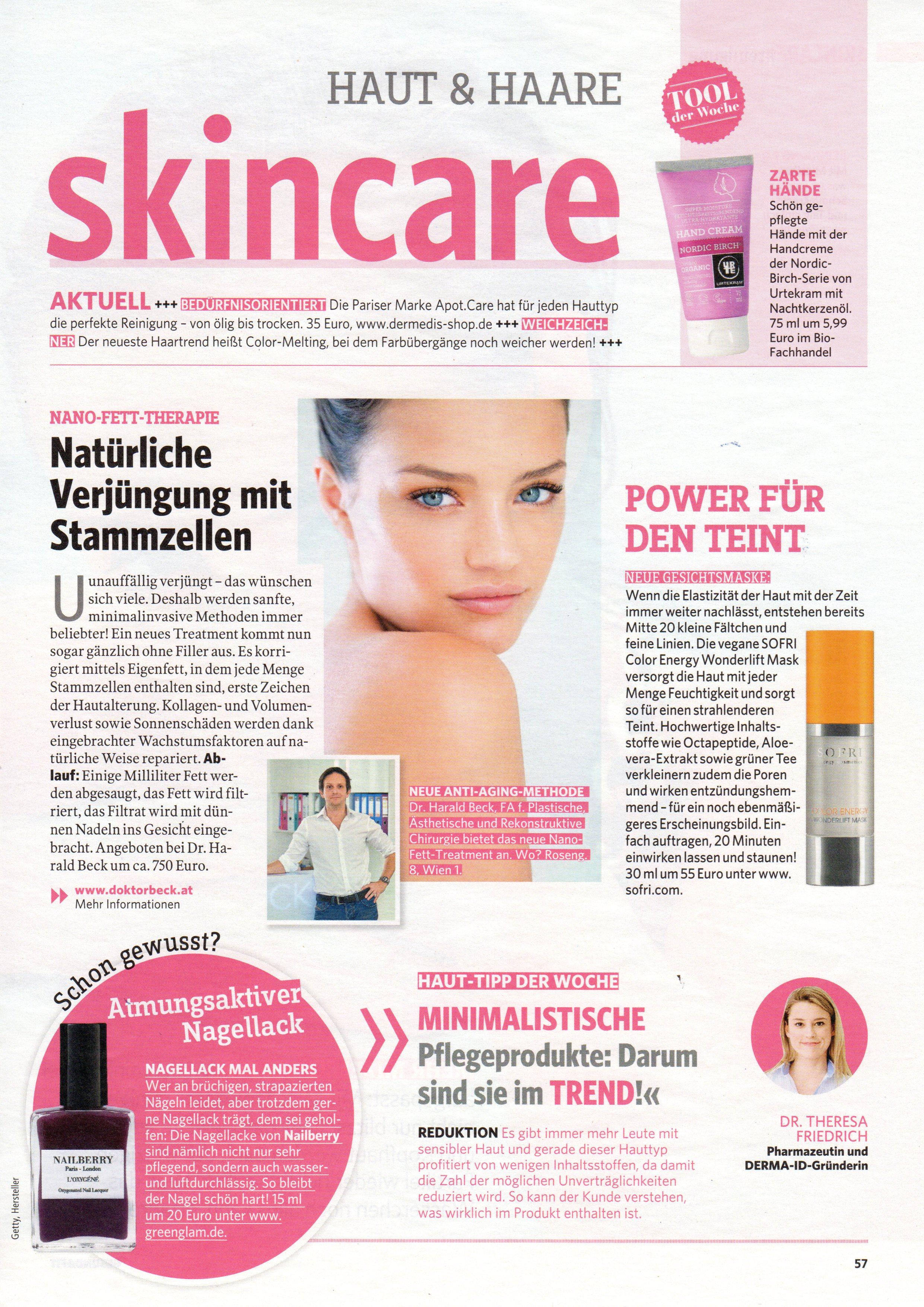 Haut&Haare: skincare, gesund&fit im November 2017
