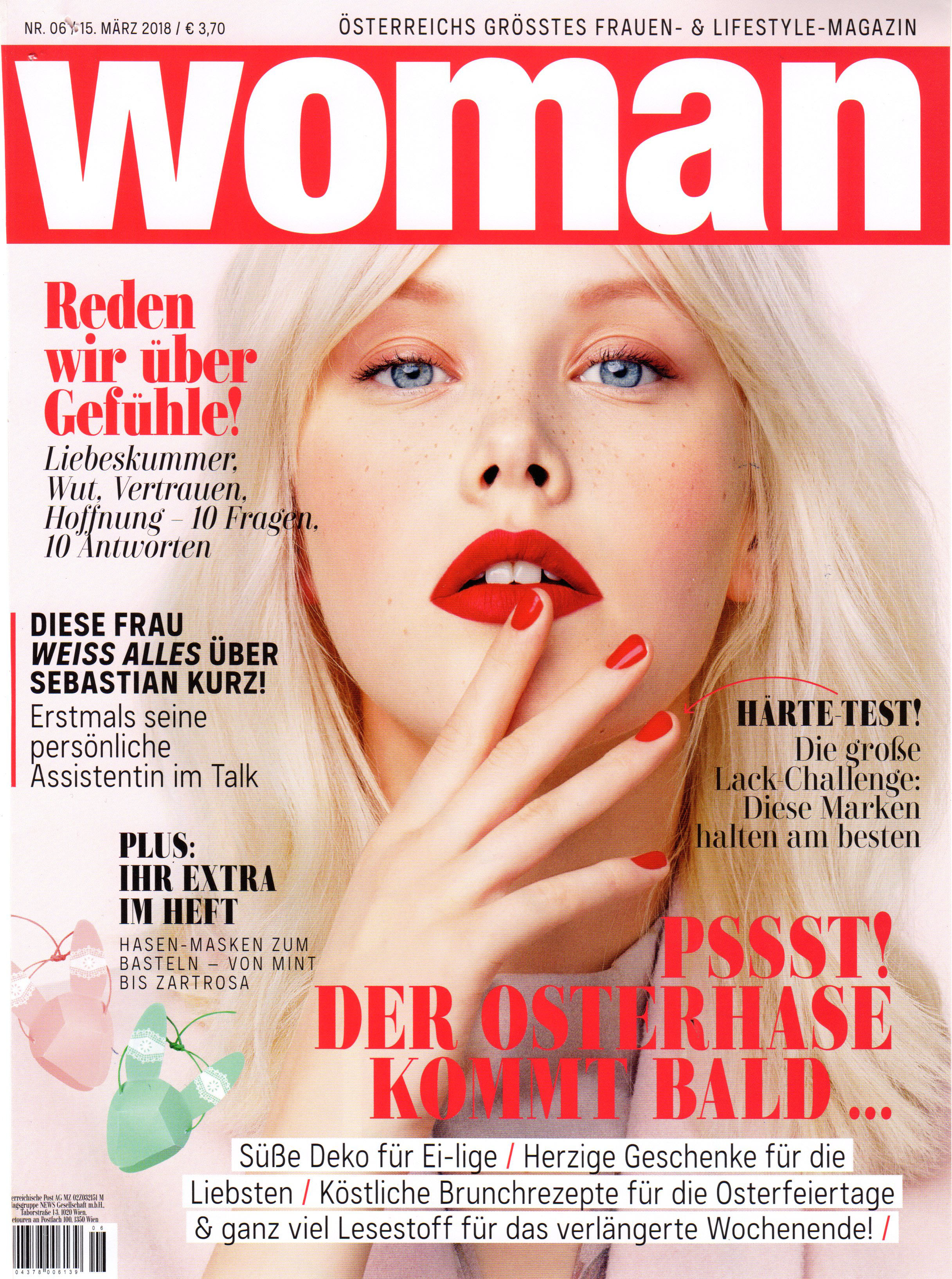 Beruhigend: Rosmarin, Woman im März 2018