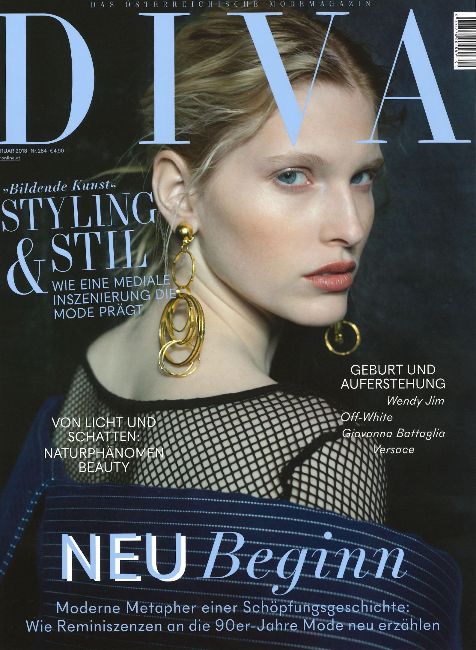 Schutz Schilde, Diva im Februar 2018