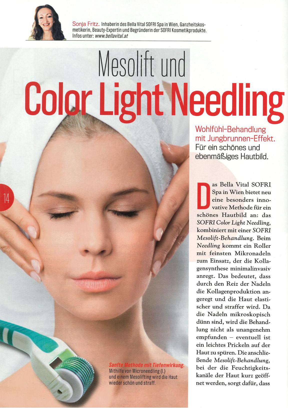 Mesolift und Color Light Needling
