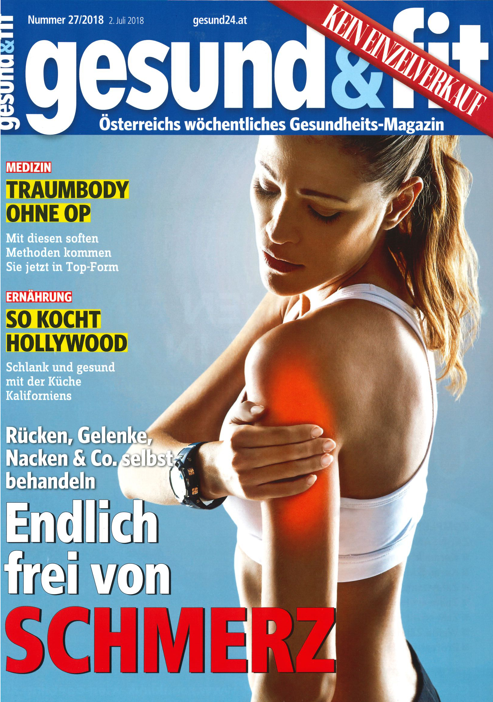skincare, gesund&fit im Juli 2018