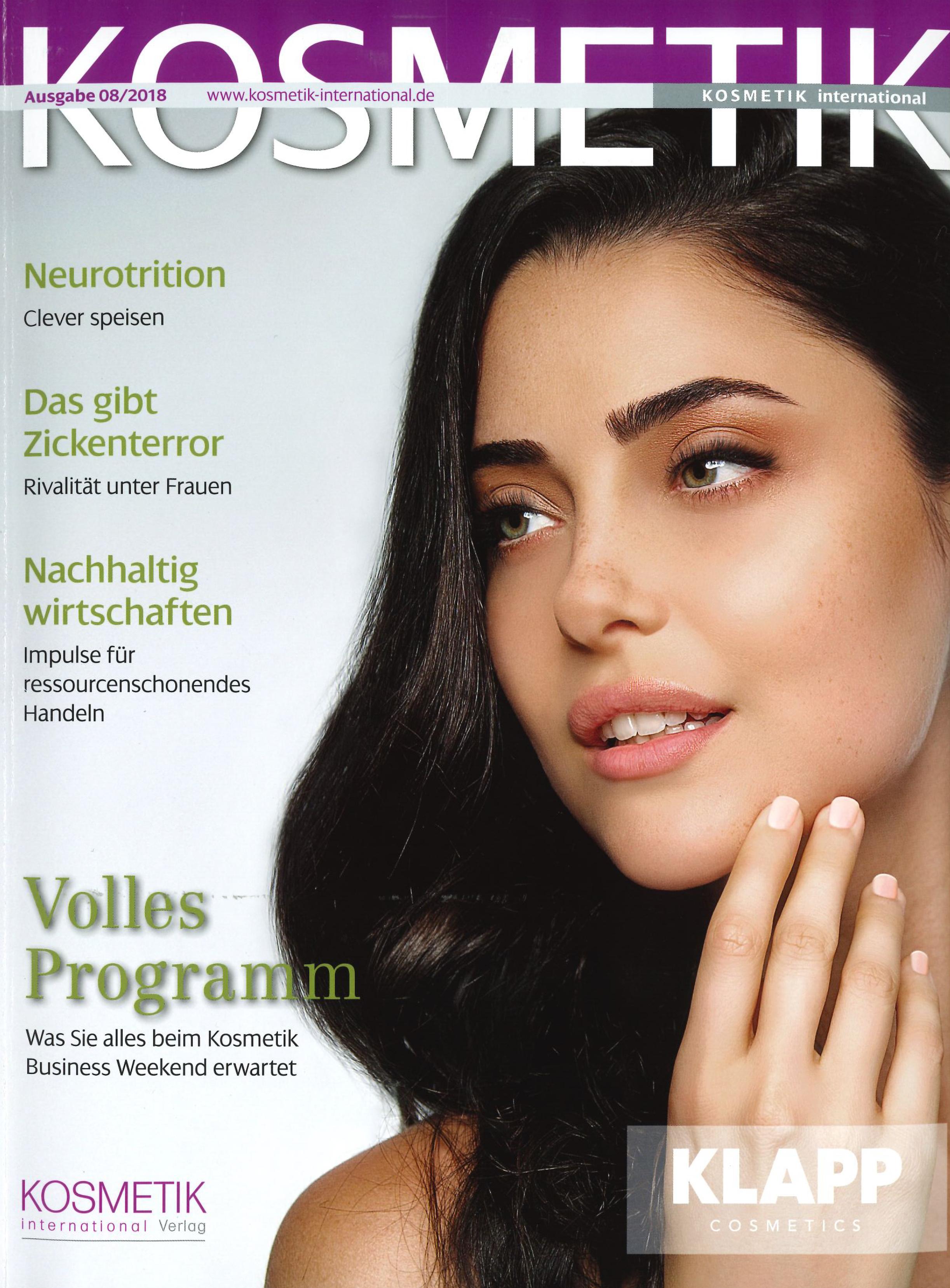 Mehr Widerstandskraft, Kosmetik im August 2018