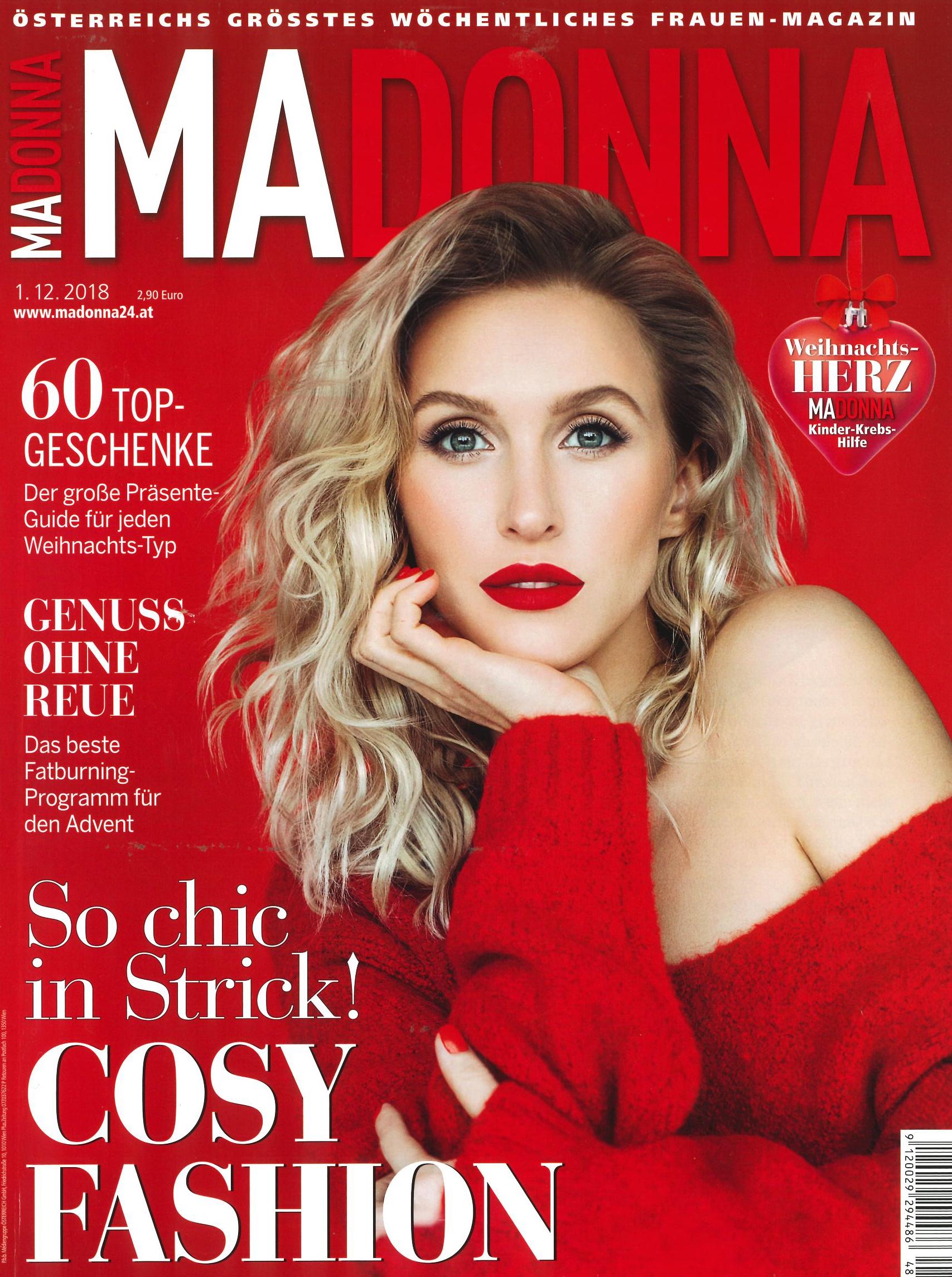 Anti-Age Behandlungen für ihre Schönheit und ihr Wohlbefinden! Madonna im Dezember 2018