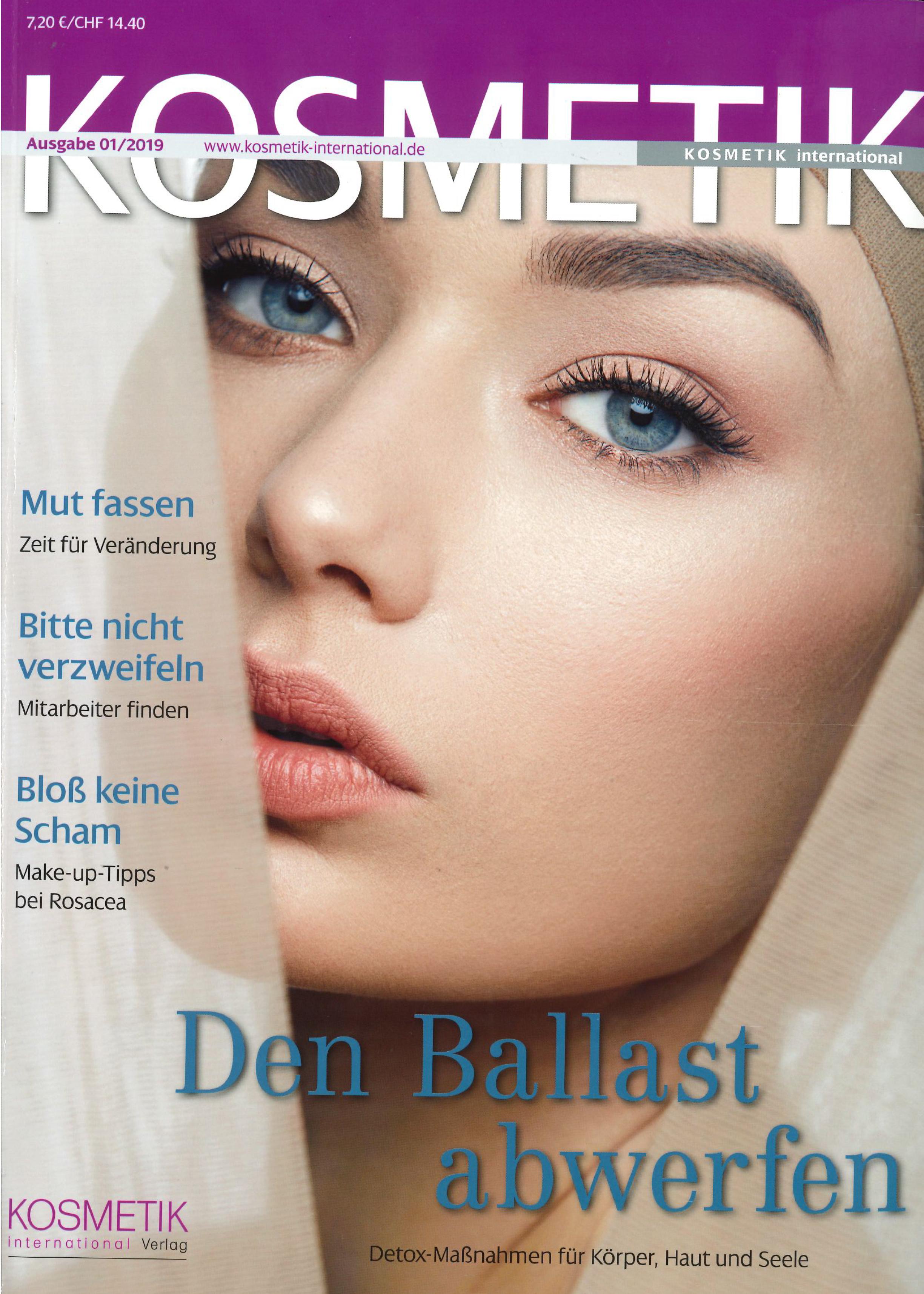 Fachlicher Austausch unter Beauty-Experten, KOSMETIK im Jänner 2019