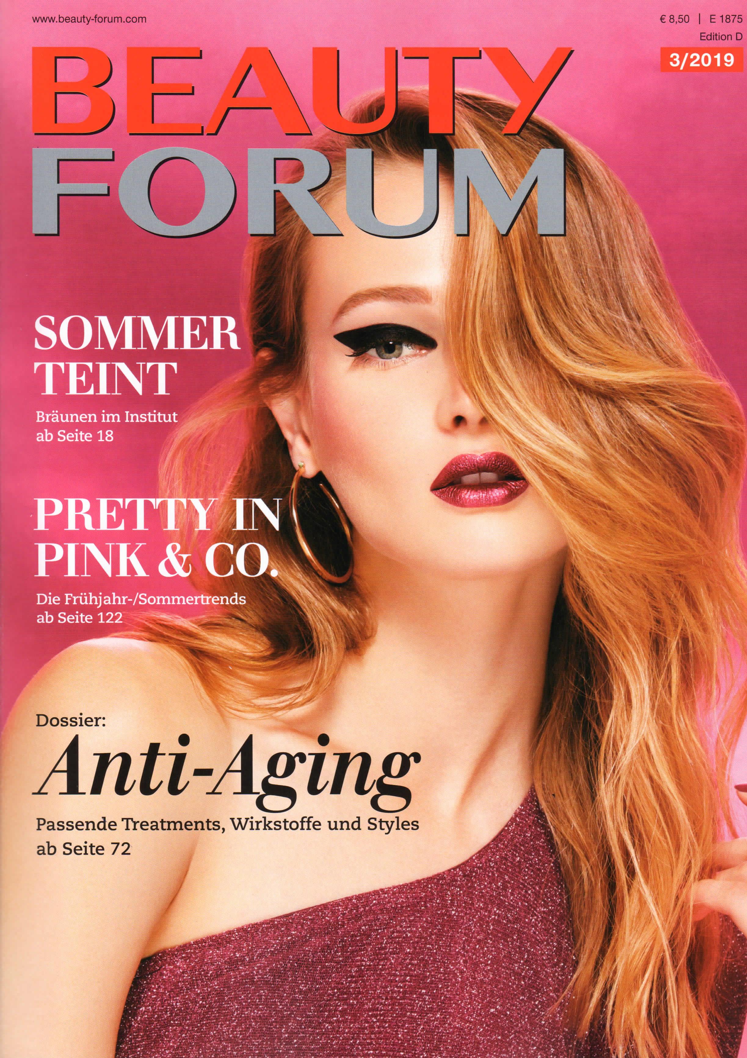 Beauty & Care – Geräte, Beauty Forum im März 2019
