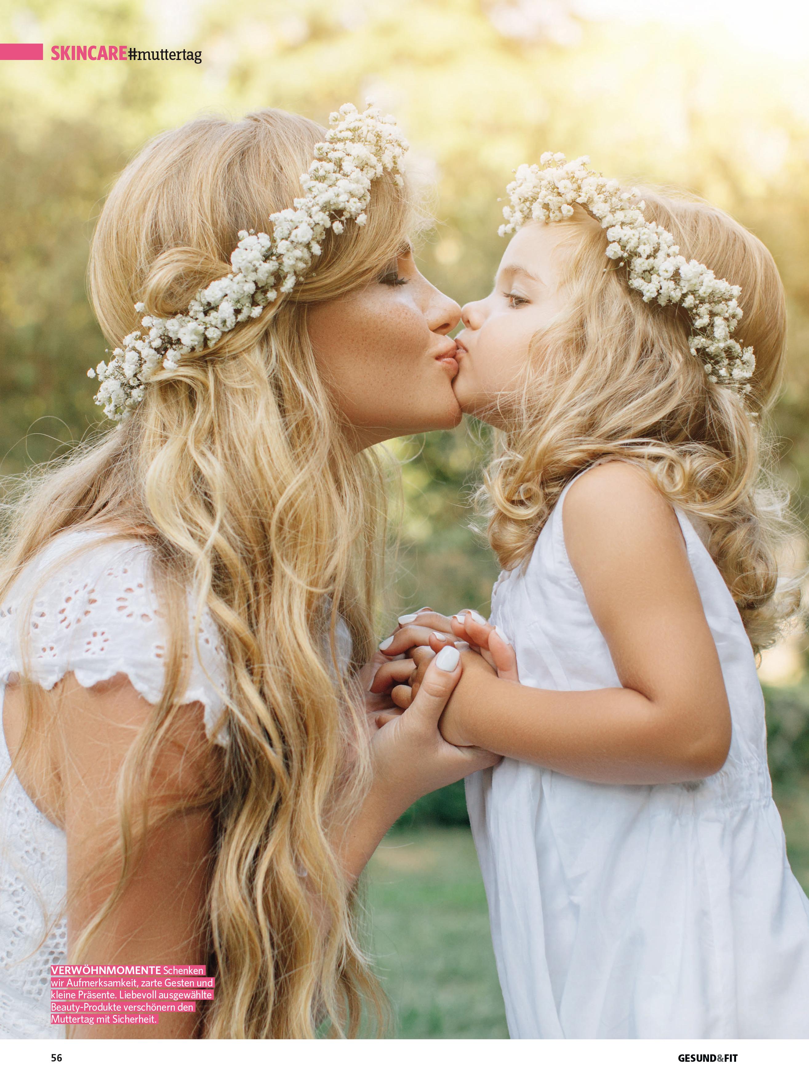 Schönheit schenken zum Muttertag, Gesund&Fit im Mai 2019