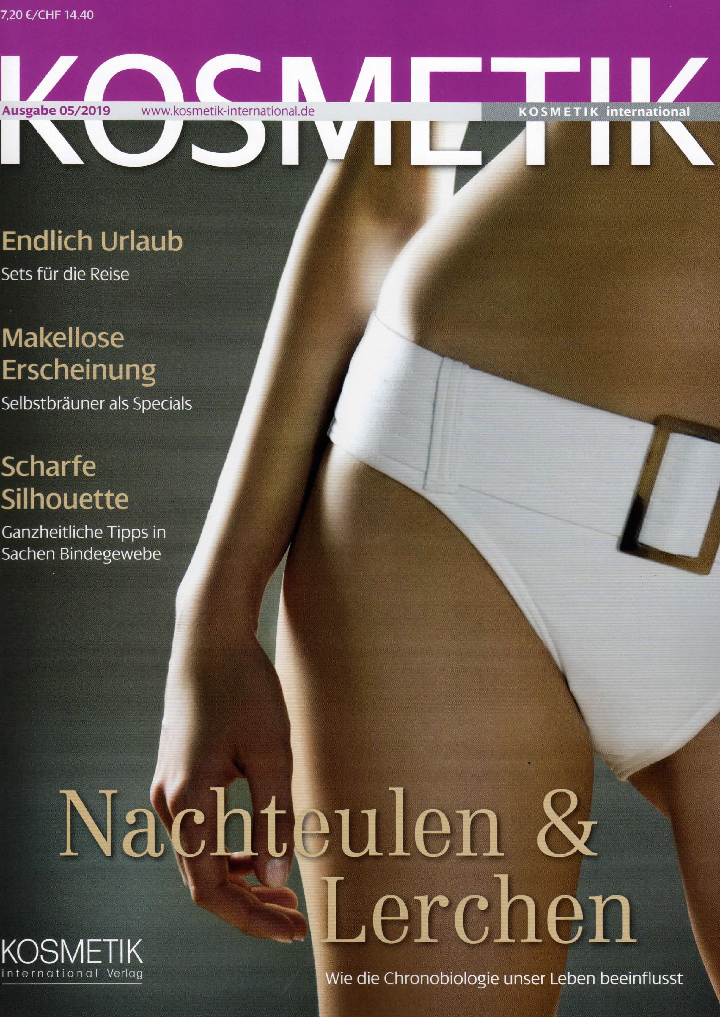 Neuer Look, Gegen Cellulite, Kosmetik im Mai 2019