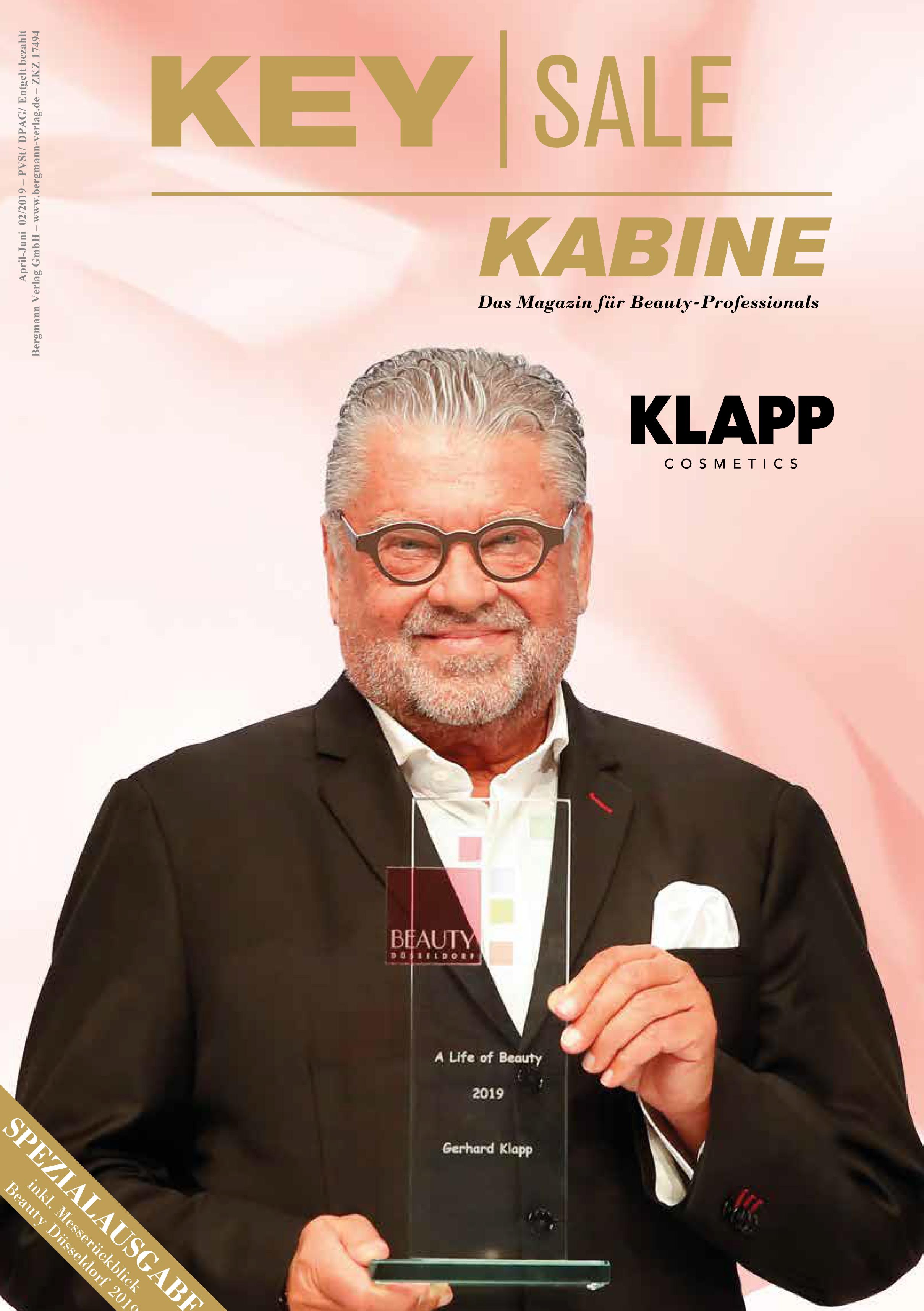 SOFRI-Seminare 2019, Key Sale Kabine im Mai 2019