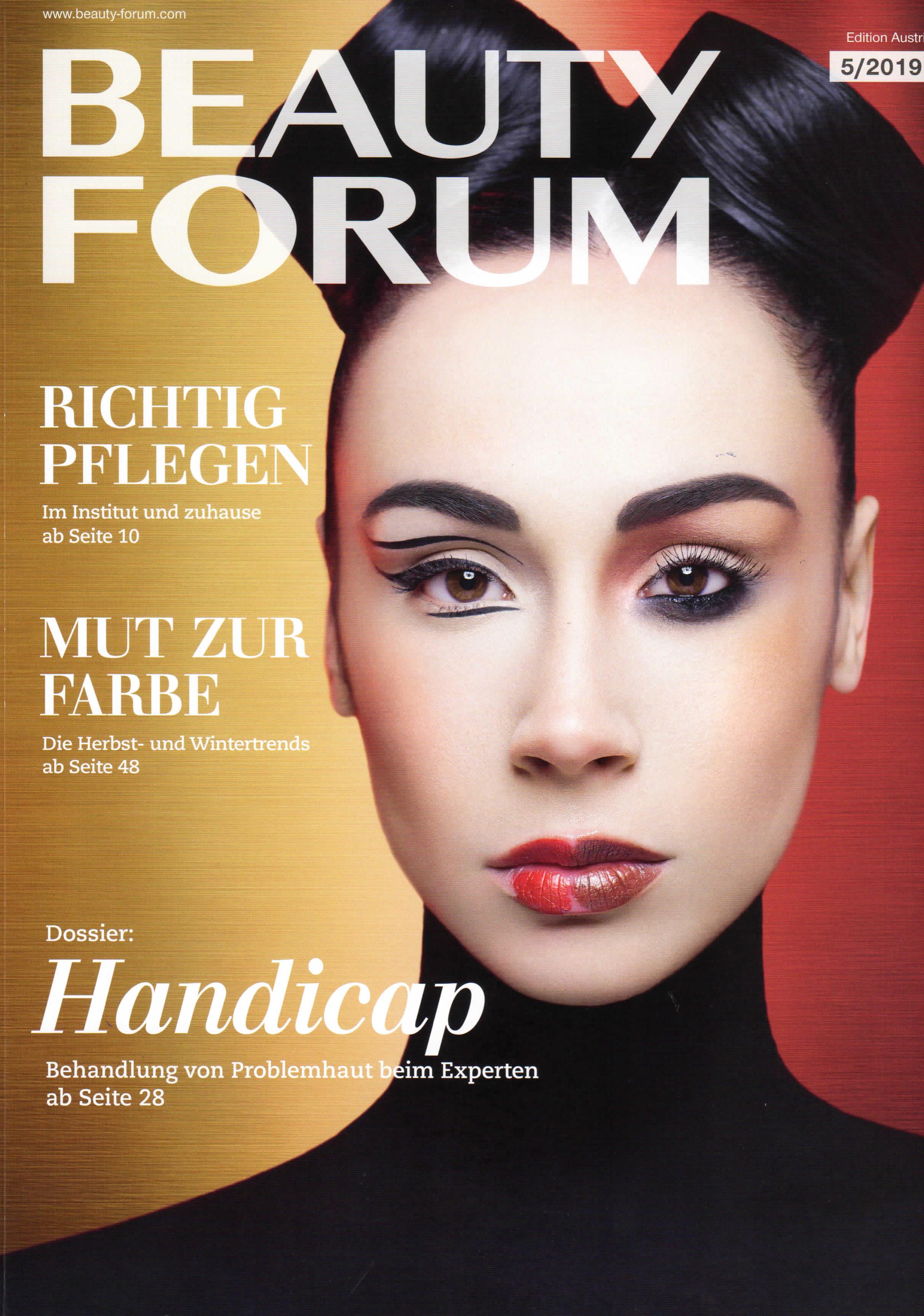 Heilung mit Nadeln, Beauty-Forum im Oktober 2019