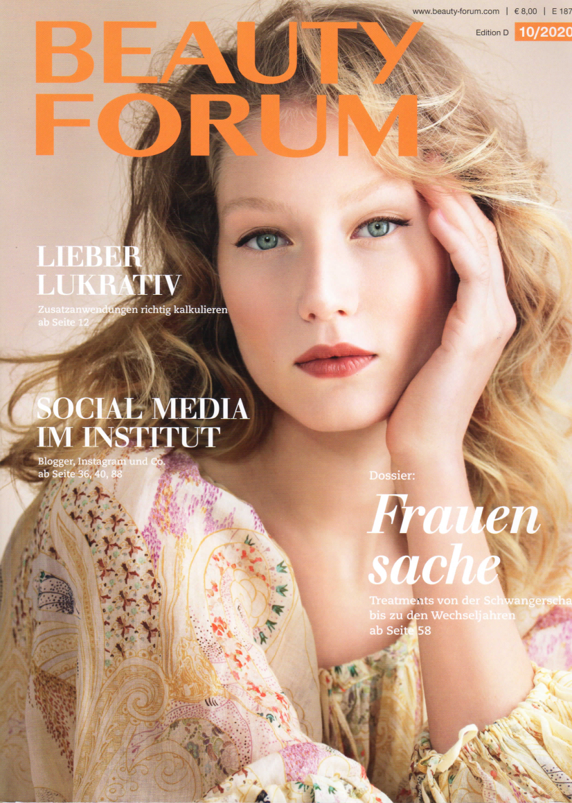 Beauty-Ampulle, Beauty Forum im Oktober 2020