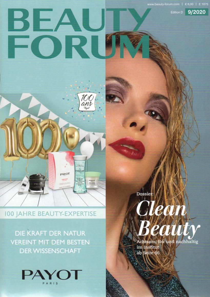 Top gepflegt Schöne Haut, Beauty Forum im September 2020