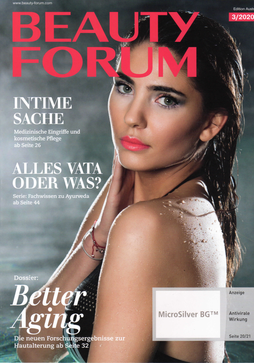 Topgepflegt schöne Haut, Beauty Forum im Juni 2020