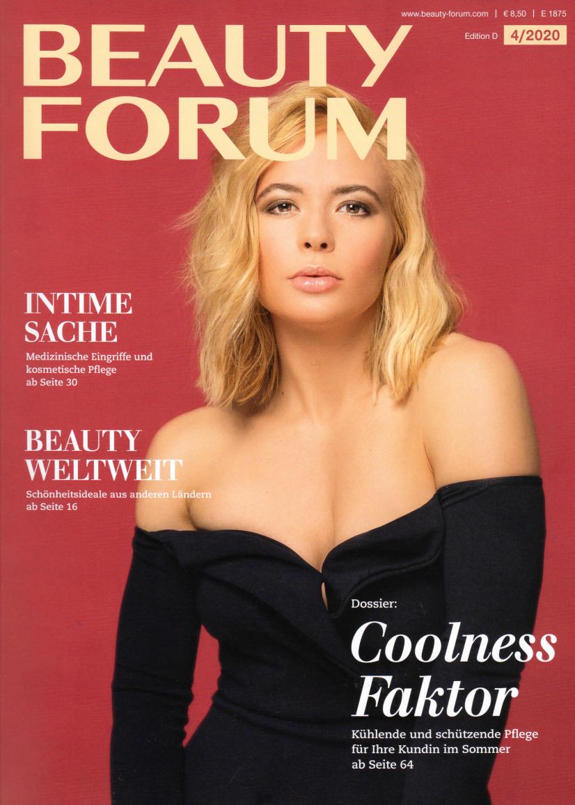 Ebenmässiger Teint, Beauty Forum im März 2020