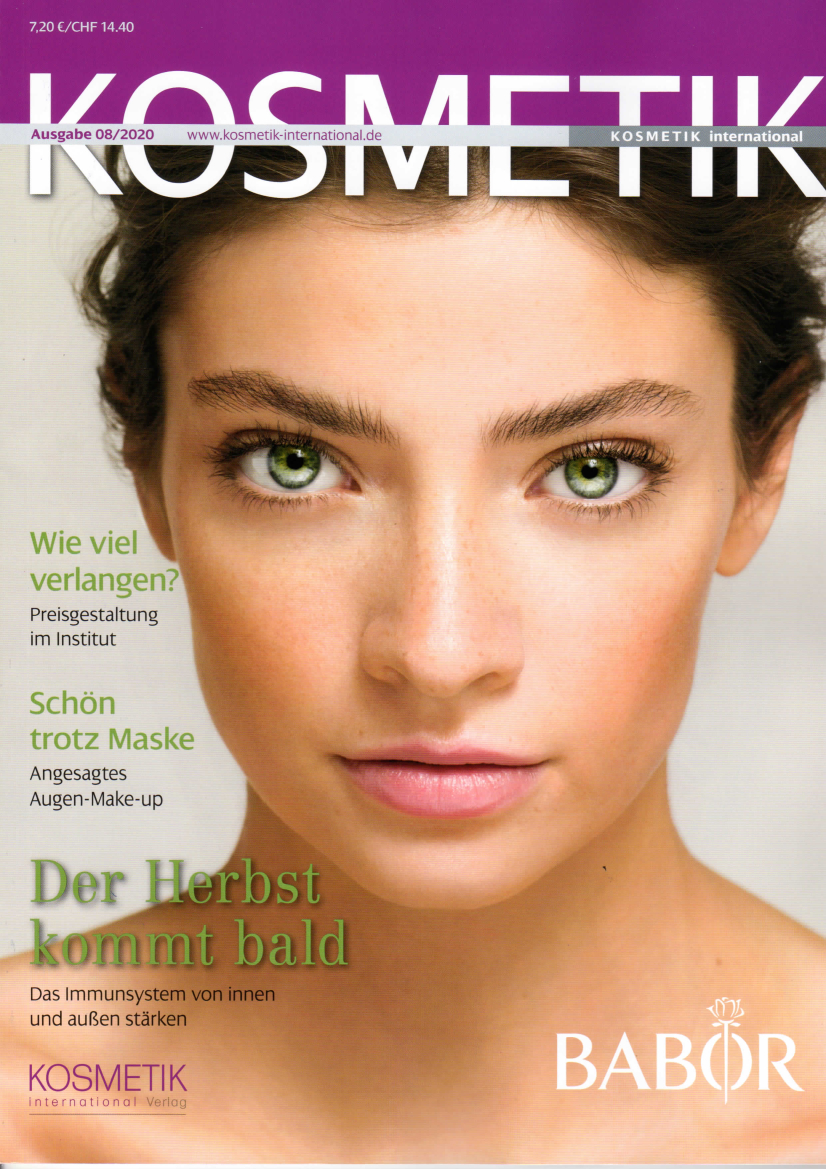 Gutes Klima, KOSMETIK International im August 2020