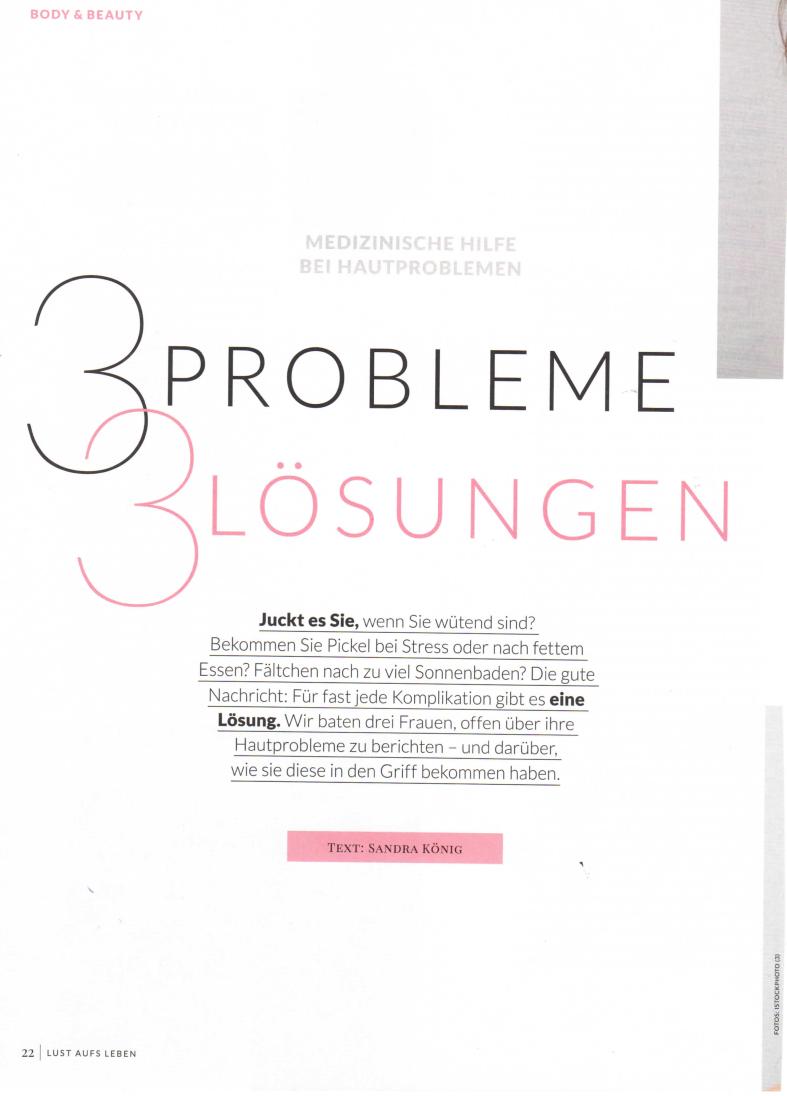 3 Probleme 3 Lösungen, Lust aufs Leben im Juni 2020