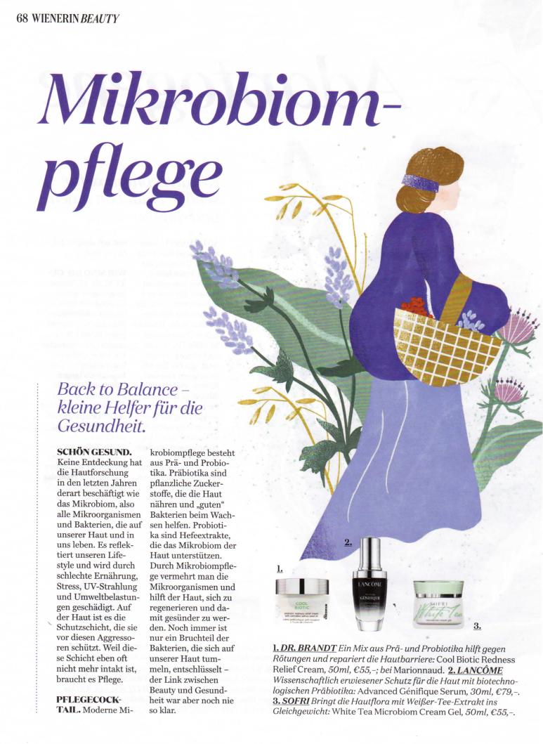 Mikrobiom-pflege, Wienerin im November 2020